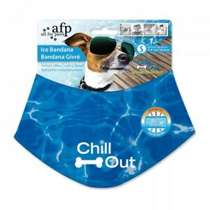 All For Paws Cooling Dog Bandana Small, Medium, Large, X-large.
