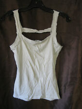 *Rare Lip Service Straps of Mercy Chest Strap Grey Tank Top DYI Project M