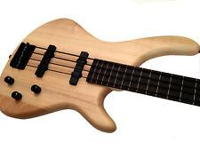 Roxonix Fantom Fretless Bass Guitar, Pod case + Rotosound Noir Nylon Strings