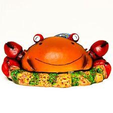 Aquarium PolyResin Fish Tank Ornament and Air Stone - Nippy the Crab