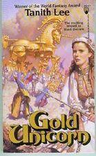 Tanith Lee: Gold Unicorn (TB, fantasy,USA)
