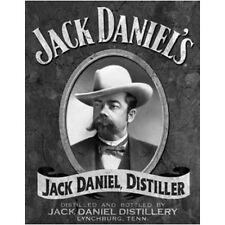 Jack Daniels Portrait Metal Tin Sign Wall Art