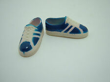Ken doll blue and white sneakers shoes