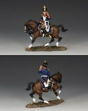 KING And Country MONTATO francese Voltigeur Officer urlando na273