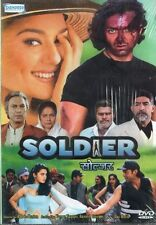 SOLDIER - SHEMAROO BOLLYWOOD DVD - Bobby Deol, Preity Zinta, Rakhee Gulzar.