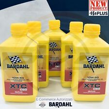 5 Litri BARDAHL XTC C60 10W50 OFF ROAD mPlus Olio Moto Cross Enduro Fuoristrada