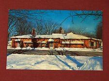 Vintage Postcard Tam-A-Rack Lodge Iron Mountain Michigan Upper Peninsula
