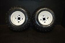 #816 1995 Polaris scrambler 400 4x4  rear rim & tires 22x11-10