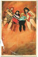 Red Sonja Vampirella Betty Veronica 1 Archie 1:40 Robert Hack Virgin Variant