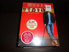 HOUSE MD-Seasons 1-3 w/Bonus Book THE STRANGE CASE OF THE WALKING CORPSE-DVDs