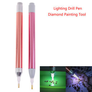 Diamond Embroidery Tool Luminous Pen 5d Diamond Painting Cross Stitch PenY^lk