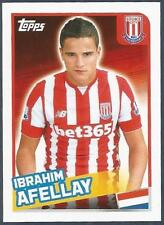 TOPPS 2016 PREMIER LEAGUE #360-STOKE CITY-IBRAHIM AFELLAY