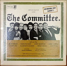 THE COMMITTEE (Original Cast)-NM1964LP MONO HAMILTON CAMP WHITE LABEL PROMO