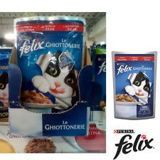 Felix Le Ghottonerie, gusto manzo, confezione da 20 bustine da 100 gr