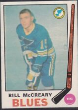 1969-70 O PEE CHEE HOCKEY BILL MCCREARY #181 BLUES EXMT *58789