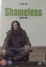 Shameless :Complete  Series 9 DVD  3 Disc Set  Brand New and Factory Sealed