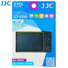 JJC 2pcs LCD Guard Film Camera Display Screen Protector for SONY DSC-HX90V WX500