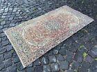 Carpet, Handmade rug, Turkish area rug, Vintage wool rug | 2,7 x 5,3 ft