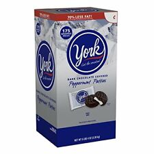 York Peppermint Patties (Gluten-Free Dark Chocolate Covered Mint Candy), 5.4 .