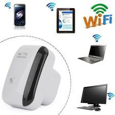 WiFi Signal Booster Repeater Extender Wireless Range Amplifier Network Plug Whi