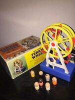 Battery Operated Toy The Busy Little FERRIS WHEEL 25 cm MIB Vintage Hong Kong