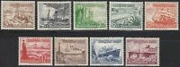 Stamp Germany Mi 651-9 Sc B107-15 1937 Reich Ship Boat Steamer Shipwreck MNH