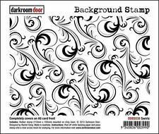 SALE NEW Darkroom Door Rubber Stamp Background Swirls