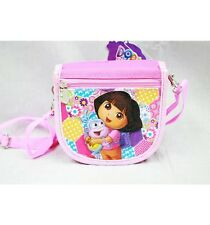 NWT Dora the Explorer with Boots the Monkey String Strap Wallet Small Purse Pink