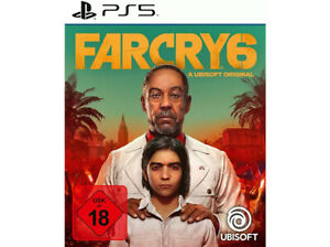 Far Cry 6 -  [Playstation 5] - DISC  - FSK 18 - USK-Version