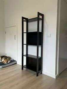 IKEA LAIVA Bookcase Slim Bookshelf Black Brown Shelving Shelves Storage Unit