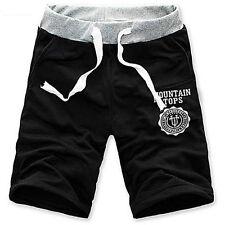 Moda Hombre Shorts Deporte Gimnasio Pantalones De Jogging Informal
