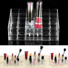 Useful HOT 24 Bottles Polishes Storage 4 Tier Acrylic Nail Polish Display Holder