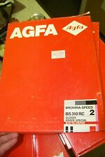 Nos AGFA Bs310rc BROVIRA-SPEED GLOSSY GRADE HARD B/W RC PAPER