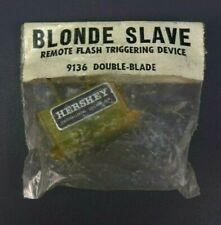 Blonde Slave 9136 Hershey Remote Double Blade Flash Triggering NOS