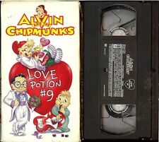 RARE Alvin and the Chipmunks - Love Potion #9 (VHS, 1994) VALENTINE'S DAY