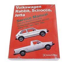 For Bentley Manual VW Volkswagen Jetta Rabbit Pickup 84 83 82 81 Scirocco 1984