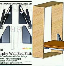 Murphy Wall Bed Hydrolic Mechanism Kit 130kgs-150Kgs For Queen/King Size Beds.