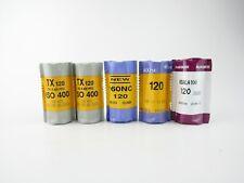 5x 120 Rollfilm roll film Fuji Reala 100 Kodak Tri-X 400 Portra 160 NC 400 NC