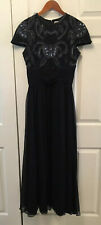 Adrianna Papell evening dressBeaded/sequined blue size 4 current style