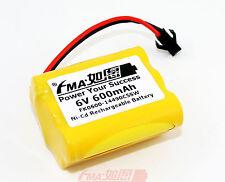 Ni-Cd AA 6V 600mAh Battery for 80 Led Solar Bulbs Light Power Toy SM2P 5SW