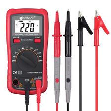Neoteck Digital Lcd Multimeter Ncv Ac Dc Current Voltage Resistance Diode Tester
