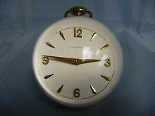 PRE-OWNED TIFFANY & CO ACRYLIC BALL DESK CLOCK BY IMHOF, 8 DAY SWISS, 15 JEWELS