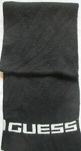 -Superbe   Echarpe GUESS   TBEG  vintage scarf