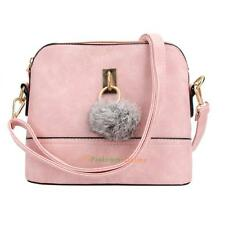 Women's PU Leather Shoulder Bag Messenger Crossbody Chain Tote Handbags Satchel