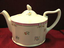 "LAURA ASHLEY ""ALICE"" ENGLAND-BEAUTIFUL 4 CUP TEAPOT W/BONUS! SUGAR BOWL W/NO LID"