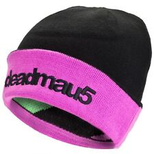 Deadmau5 - Animal Stripes Reversible Cuff Knit Hat