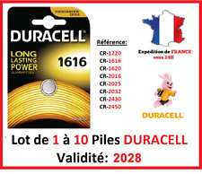 Batteries CR-1616 Duracell / Other Modell: CR-1220-1620-2016-2025-2032-2430-2450