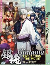 Dvd Japanese Movie Gintama Live action Movie English Subs + Free Dvd