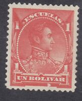 Venezuela 1882 - Bolivar - 1B Red - SG115 - Mint Hinged (D21B)