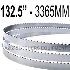 "Butchers Meat Bandsaw Blades (10 Pack). 132.5"" (3365mm) X 5/8"" X 4tpi"
